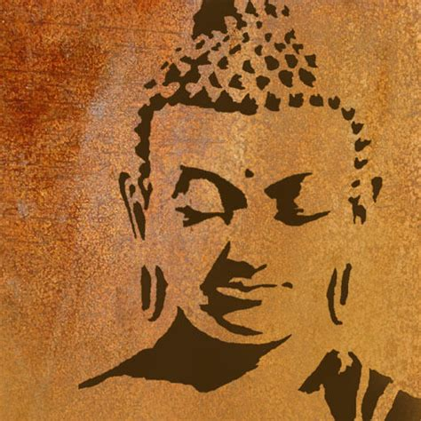 Buddha Stencil Home Wall Decor Art Craft Paint Reusable Ideal Stencil Ebay Stencil Templates For Painting