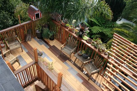 balcony banister plexiglass deck railing exterior rustic with cable railing deck eaves