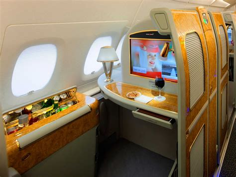 emirates a380 first class 10 first class airplane seats that are nicer than your