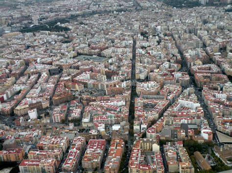 barcelona kota eixle sebuah tata kota yang rapi dan indah di