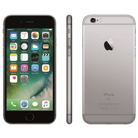 iphone 6s apple tela 4 7 hd 128gb 3d touch ios 9 sensor touch id c 226 mera isight 12mp
