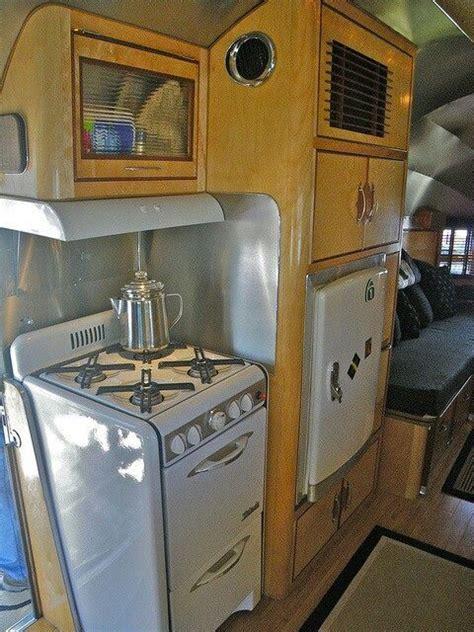 rv kitchen appliances vintage trailer kitchen vintage living pinterest