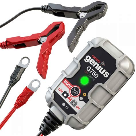 Promo Portable Accu Charger 12 Volt Motor Battery Charging Aki 12v noco 75a battery charger and maintainer g750