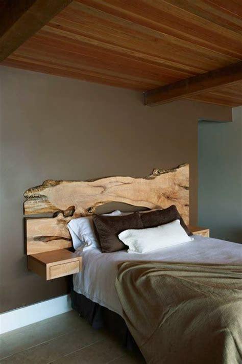 live edge headboard floating nightstand headboard woodworking projects plans