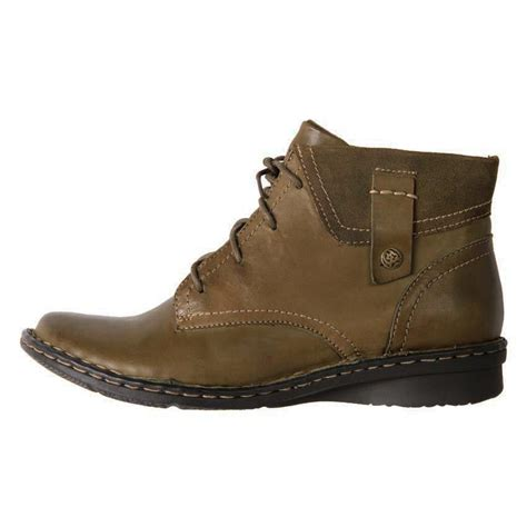 cheap leather boots cheap planet shoes s leather comfort lace up ankle