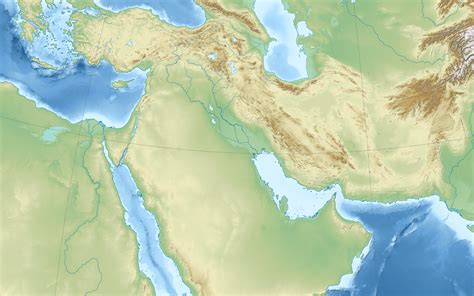physical map of the middle east file middle east topographic map blank svg wikimedia commons