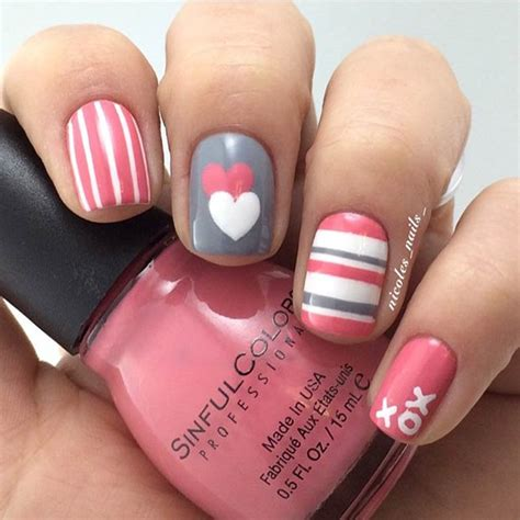 fingernail design ideas 35 s day nail designs page 24