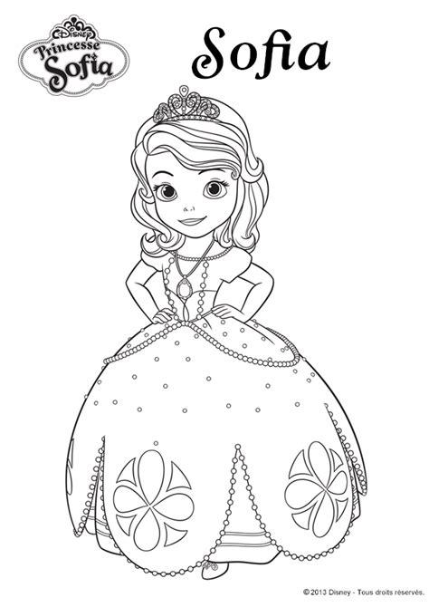 disney coloring pages princess sofia coloriage disney la princesse sofia hugolescargot com