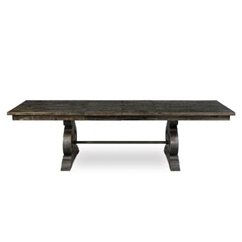 weathered wood dining table bellamy weathered pine wood rectangular dining table