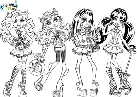 high mattel coloring pages there are many
