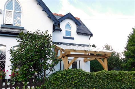 porch oak frame construction home improvement for pam