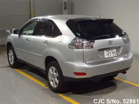 toyota harrier 2008 2008 toyota harrier silver for sale stock no 52861