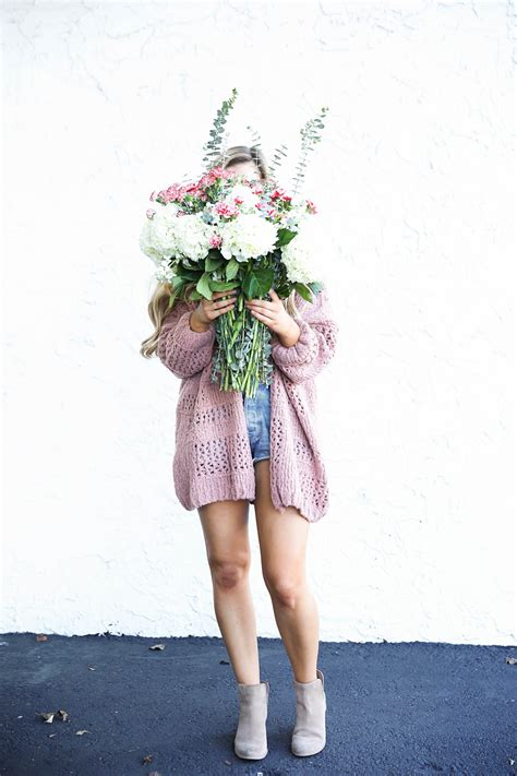 White Fresh Flower Cardigan 40624 update getting personal daily dose of charm