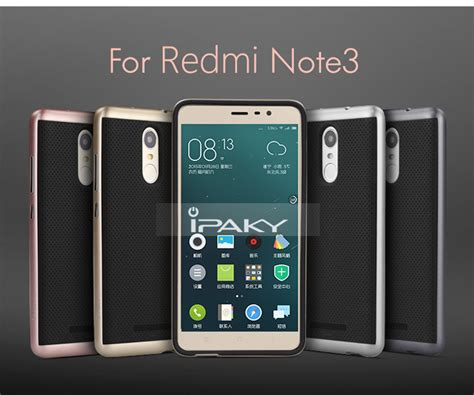 Original Ipaky Dual Layered Pc Framesilicon Back Cover Redmi Note 2 3 original ipaky pc tpu dual hybird back cover for