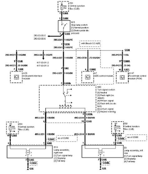 2016 ford f150 brake light wiring diagram wiring diagram