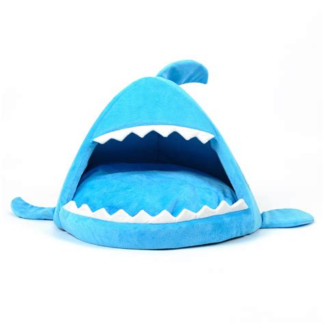 shark bed for cats shark dog kennel cat bed