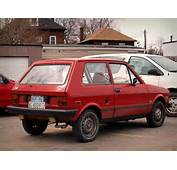 Red Yugo Gv In Junction Triangle Toronto Canadajpg