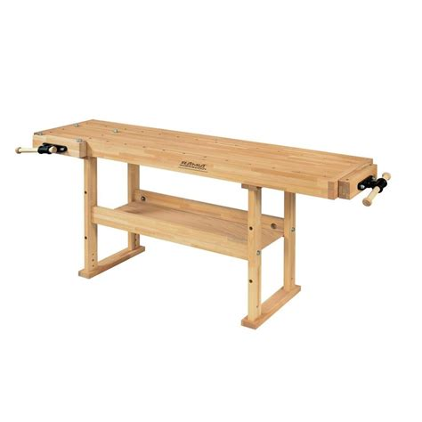 hobby work bench trinity 6 ft w x 24 in d adjustable height workbench tls