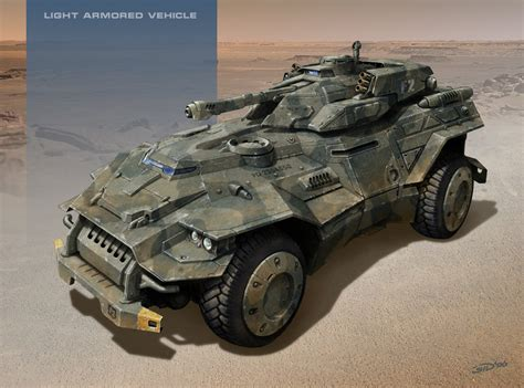 future military jeep light armored vehicle by sid75 on deviantart sci fi