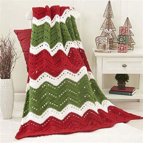 pattern christmas afghan christmas crochet crochet and knit
