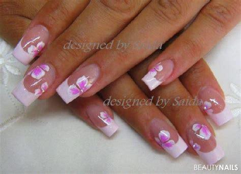 Nägel Lackieren Muster Für Kurze Nägel by F 252 Hlingsrosa Blumen Nageldesign