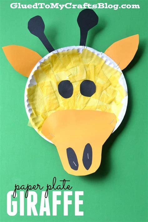 Giraffe Paper Plate Craft - 25 best ideas about giraffe crafts on