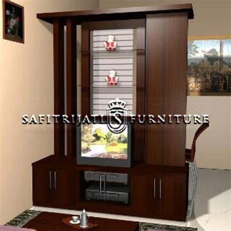 desain lemari pajangan lemari pajangan minimalis kayu jati safitri jati furniture