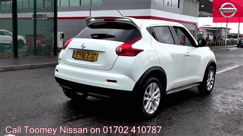 nissan juke white 2011 nissan juke tekna 1 6l arctic white ey61zjz for sale