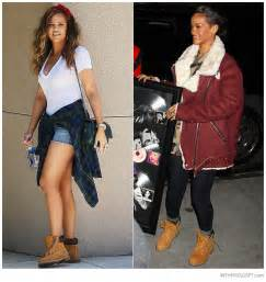 Celebs such as khloe kardashian and rihanna have all been spotted