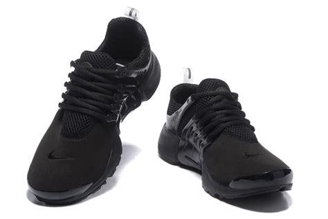 nike womens black sneakers nike air presto black mens womens running shoes