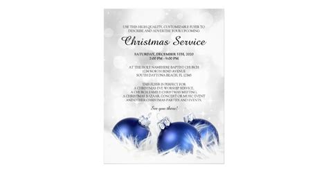 christmas program template church service flyer templates zazzle ca