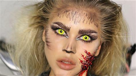 halloween makeup tutorial werewolf easy sfx werewolf makeup tutorial halloween youtube