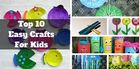crafts for at easy crafts for to make at home craft ideas
