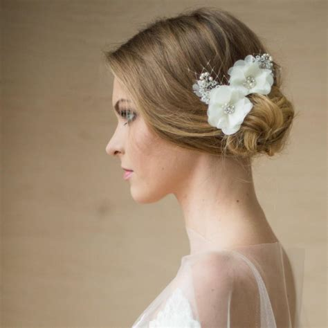 Wedding Flower Hair by Bridal Flower Hair Accessories Www Imgkid The