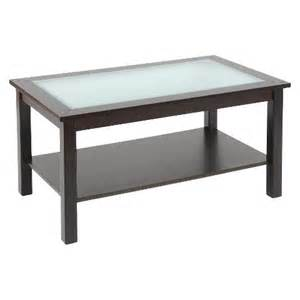 Glass Coffee Table With Shelf Rectangular Glass Top Coffee Table With Shelf Es Target