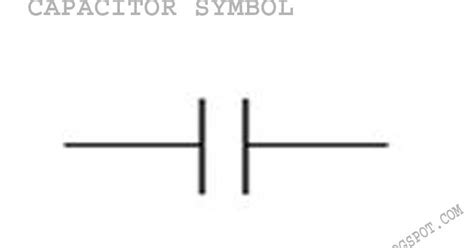 electrical capacitor schematic symbol electronic capacitors and it s types 171 electrical and electronic free learning tutorials