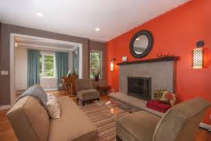 The Home Depot Kitchen Cabinets burnt orange wall paint living room contemporary with