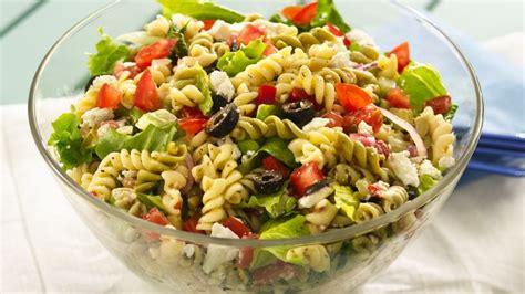 Easy Macaroni Cheese by Greek Tossed Pasta Salad Recipe Bettycrocker Com