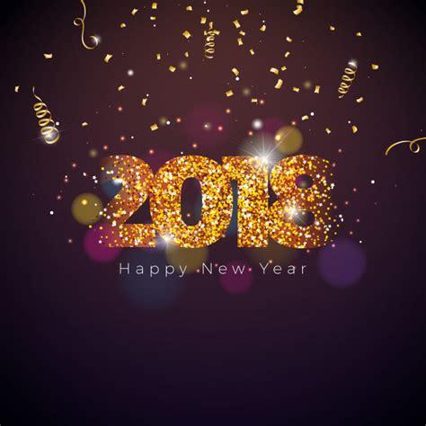 new year 2018 lahaina vector la ilustraci 243 n de la feliz a 241 o nuevo 2018 en fondo