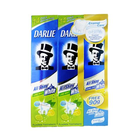 Toothpaste Darlie All Shiny White Lime Mint 160g Image Gallery Lime Toothpaste