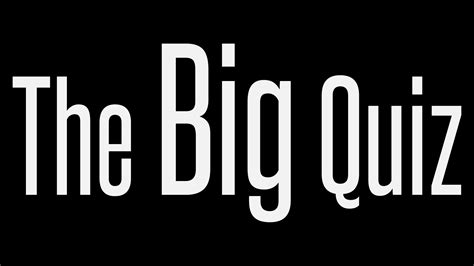 the big quiz nights the big disco company