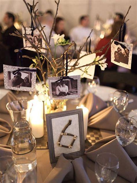 table centerpieces photos best 25 photo centerpieces ideas on