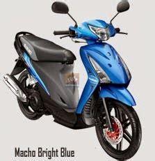 Spakbor Depan Spin Blue spesifikasi suzuki spin 125 sr planet motocycle