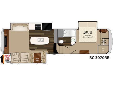 heartland 5th wheel floor plans 2015 big country 3070re floor plan 5th wheel heartland rv