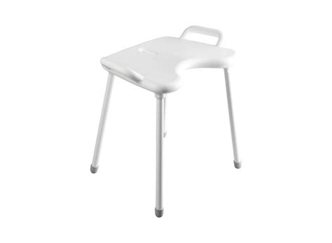 White Liquid In Stool by Hewi Shower Stool White Edition 802 51 W310
