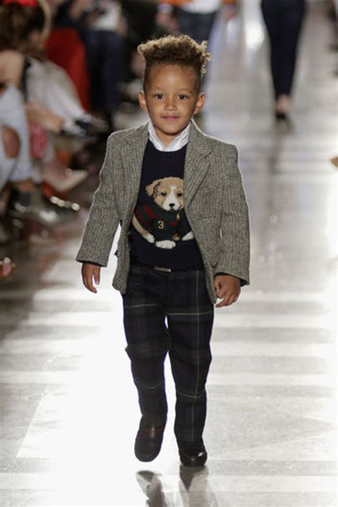 Alicia keys son egypt models for ralph lauren fall 2014 187 bellissima kids bellissima kids