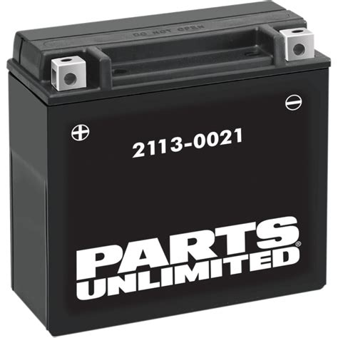 parts unlimited agm battery ytx7l bs ctx7l bs parts
