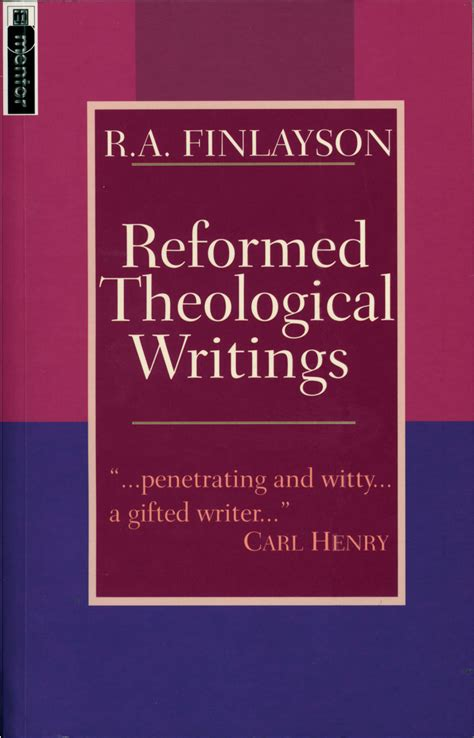 reformation theology a systematic reformed theological writings jpg