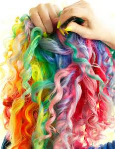 rainbow hair color pictures 10 rainbow pastel hair colors styles for day