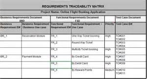 requirements traceability matrix template 4 steps to create requirement traceability matrix rtm